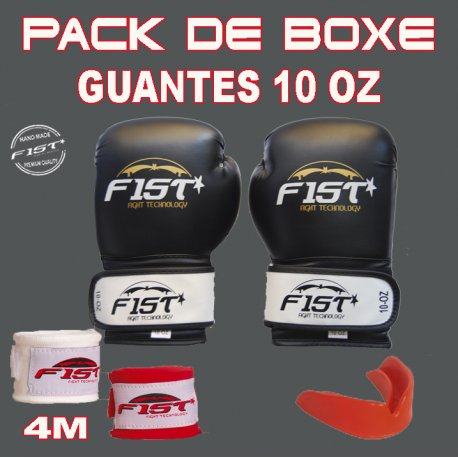 PACK DE BOXEO 10 OZ