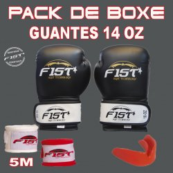 PACK DE BOXEO 14 OZ