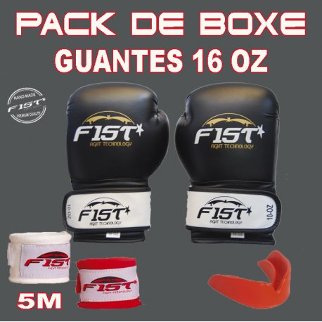 PACK DE BOXEO 16 OZ