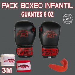 PACK BOXE ENFANT 6 OZ