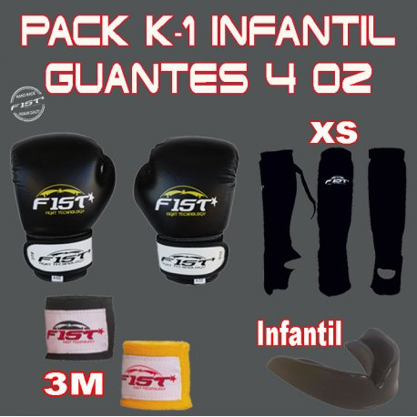 PACK K-1 INFANTIL 4 OZ