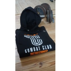 "SWEAT À CAPUCHE ""COMBAT CLUB"" NOIR"