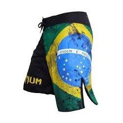 Pantalon MMA lucha VENUM BRAZILIAN FLAG Negro