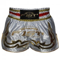 "SHORT MUAY-THAI ""FIST"" GOLDEN"