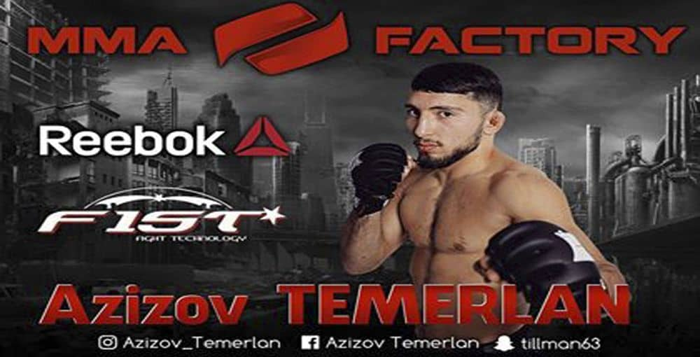 Sponsoring Temerlan Azizov FIST fight technology